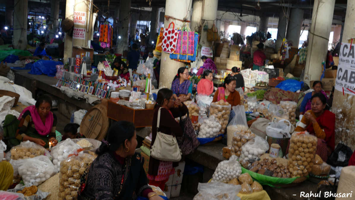 Ima Market, a market run by women in Imphal, Manipur. Ima Market, a market run by women in Imphal, Manipur. This is one of its kind place to visit during Holidays to Manipur in North East