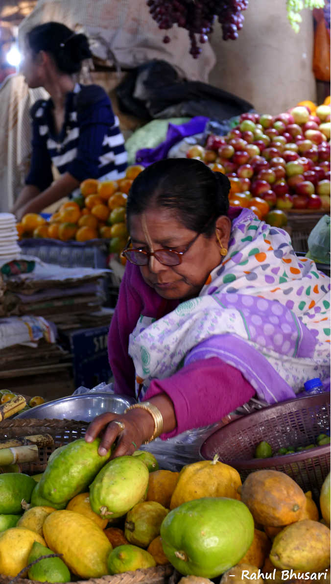 Ima Market, a market run by women in Imphal, Manipur. This is an interesting and a unique place to visit during Holidays to Manipur in North East