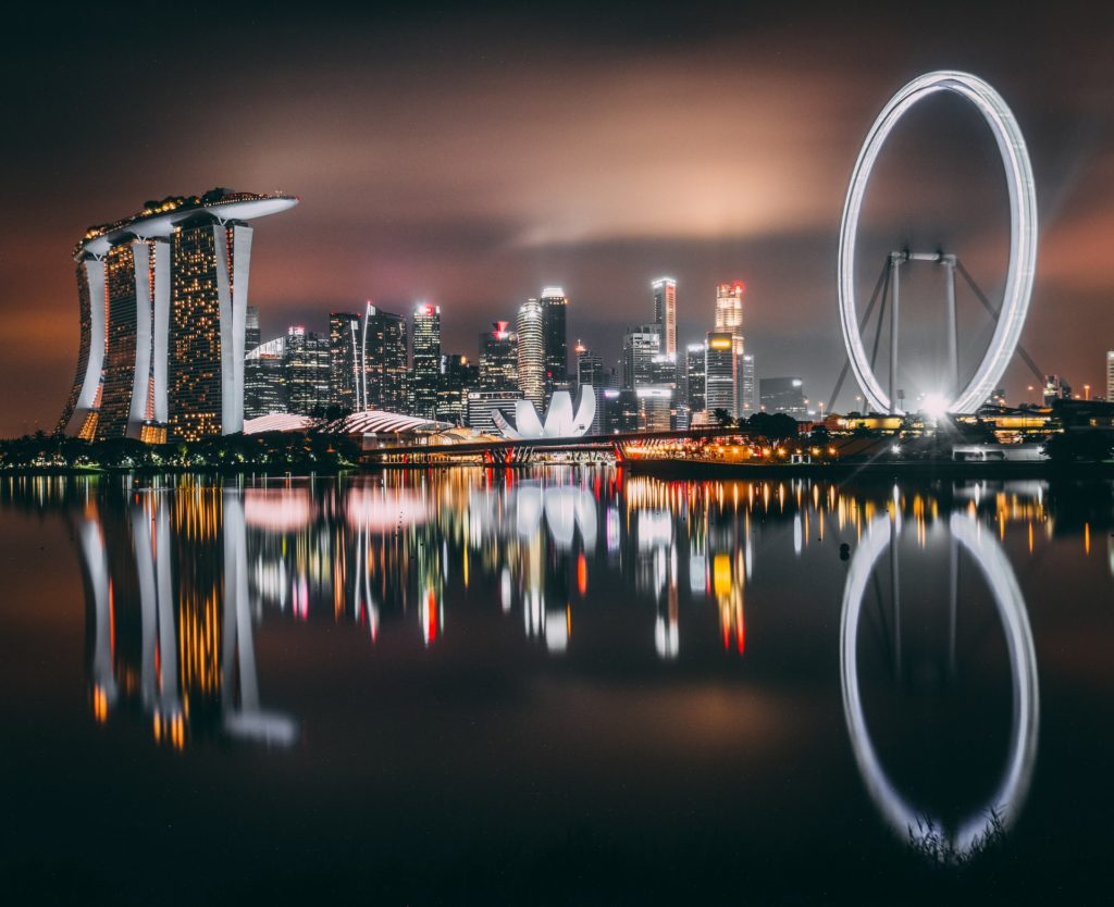 Singapore is a glittery treat to eyes