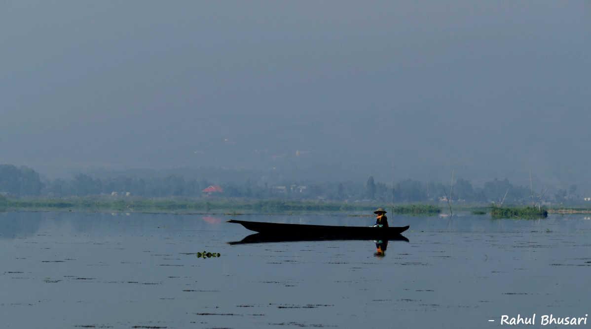 Boating in Loktak Lake