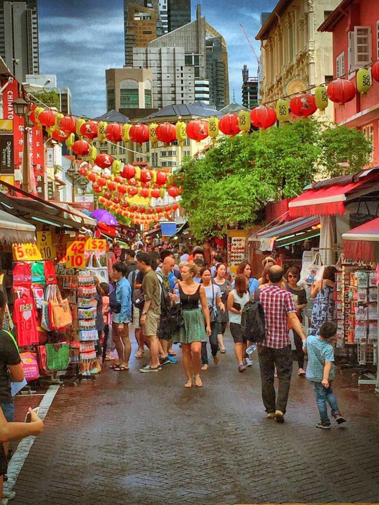 Chinatown, Singapore street market