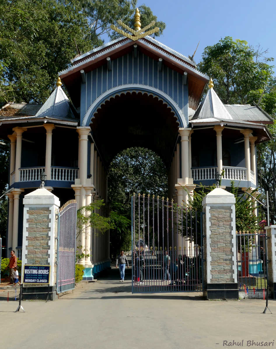 The entry gate of Kangla Fort at Imphal, Manipur