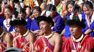 Hornbill Festival is must see when travelling to Nagaland for Holidays
