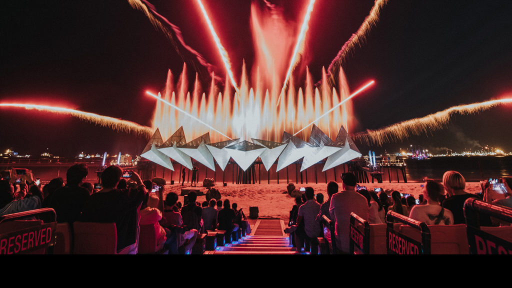 Wings of Time show at Sentosa Island