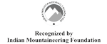 Recognizes by India Mountaineering Foundation